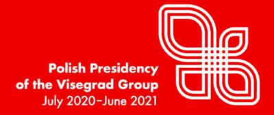 Logo polskiej prezydencji w V4