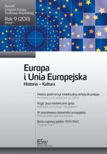 Historia Europy i jej kultury. Ich znaczenie dzisiaj dla Unii Europejskiej (en translation)