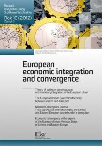 Projected directions of the CAP Reform post 2013 and economic convergence in the European Union (en translation)