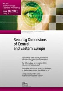 Weakening cohesion as a security challenge for the European Union: the CEEs in focus (en translation)
