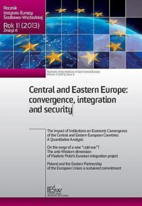 The impact of institutions on economic convergence of the Central and Eastern European Countries: a quantitative analysis (en translation)