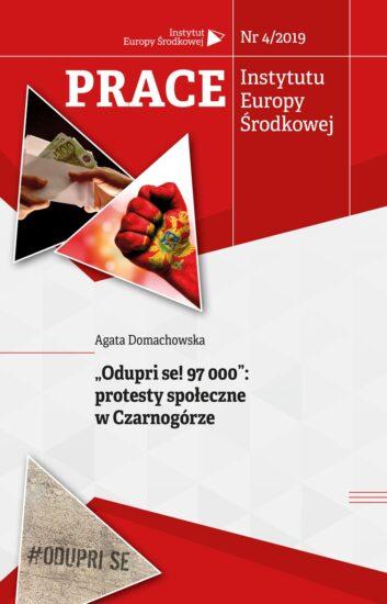 """""""Odupri se! 97 000"""": protesty społeczne w Czarnogórze"""