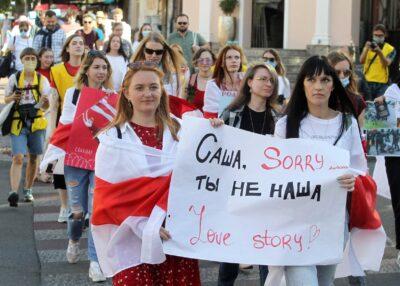 Ukraina wobec sytuacji na Białorusi