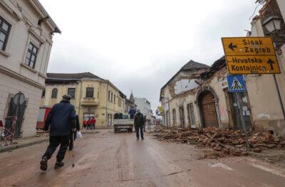 Fot. Chorwacja trzęsienie ziemi