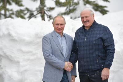 Fot. Spotkanie prezydentów FR i Białorusi w Soczi