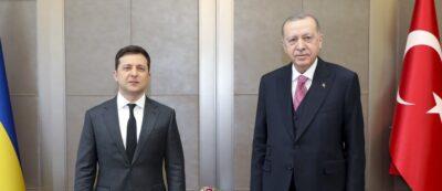 Fot. W. Zełenski i R. Erdogan