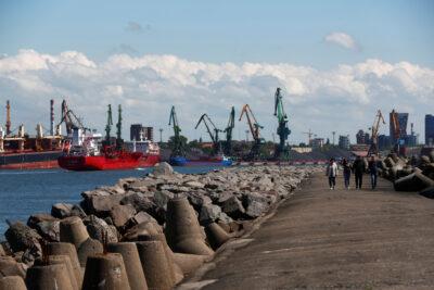 Fot. Port w Kłajpedzie