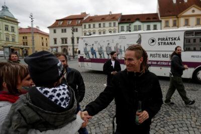 Fot. Lider Czeskiej Partii Piratów