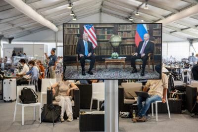 Fot. Spotkanie Biden-Putin