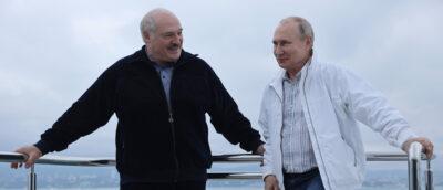 Fot. W. Putin i A. Łukaszenka