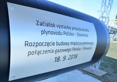 Fot. KIES-450_Rozpoczęcie budowy połaczenia gazowego Polska-Słowacja