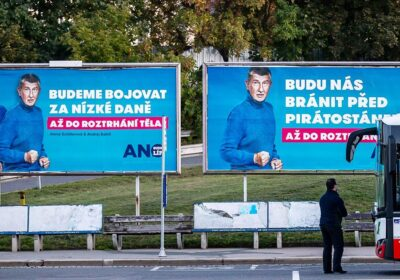 Fot. Plakaty wyborcze ANO